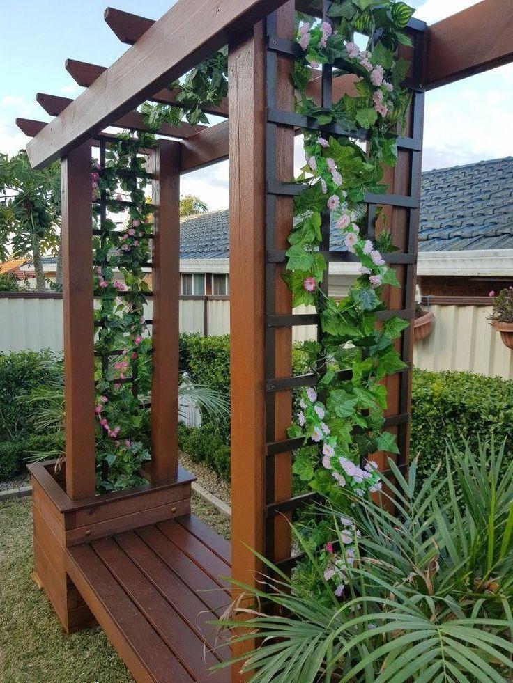 Ideen für die Gartengestaltung mit kleinem Budget Die Kombination aus exquisit… – 2019 - Landscape Diy