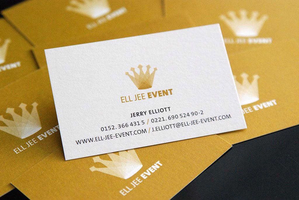 ell jee event visitenkarten design business cards. Black Bedroom Furniture Sets. Home Design Ideas