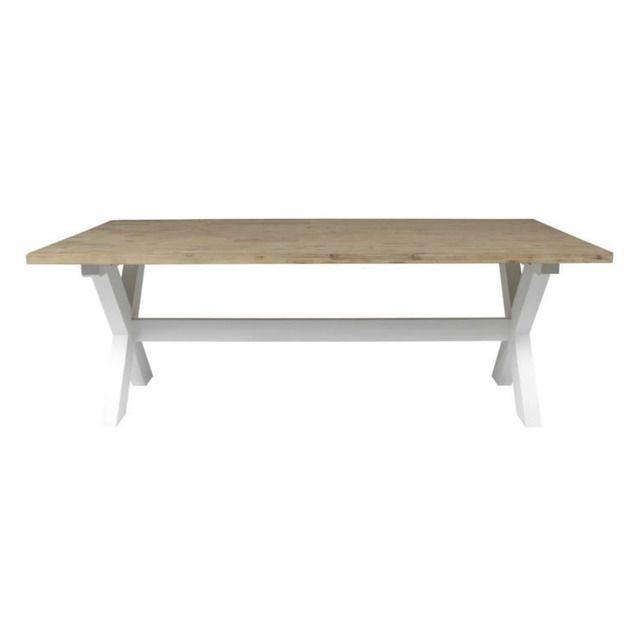 mesa de comedor costa | madera de acacia, estructura de madera y