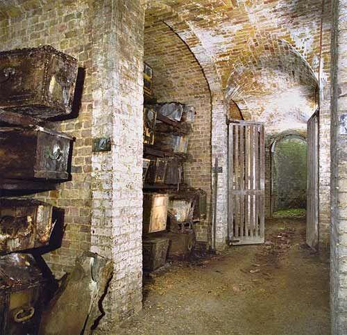 Catacombs Underneath London.