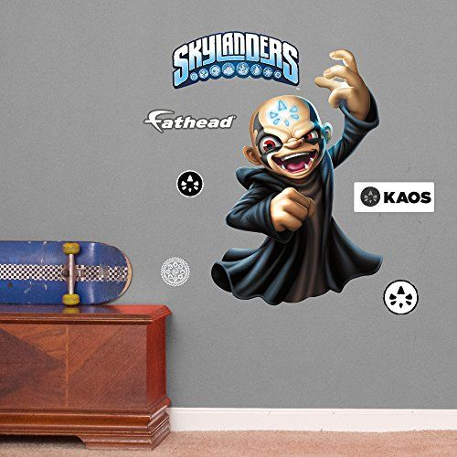 Fathead 1516942 Skylanders Kaos Vinyl Decals Be Sure To Check Out This Awesome Product Note Amazon Affiliate Link Wall Decals Vinyl Decals Fathead