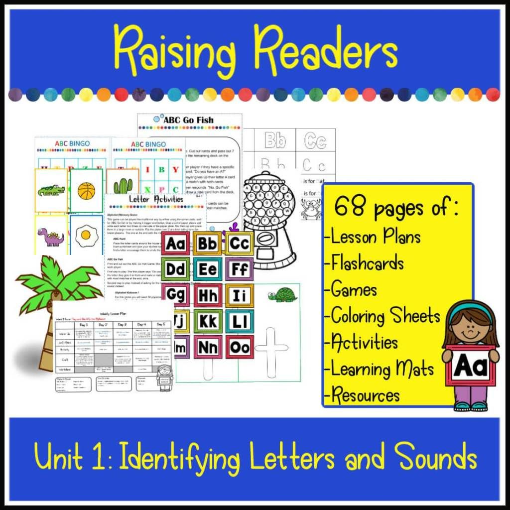 Raising Readers Letters And Sounds