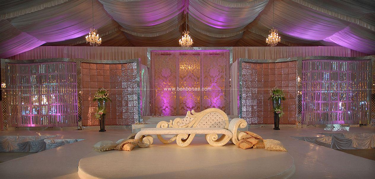 www.bonbonae.com | Wedding stage, Wedding decorations ...
