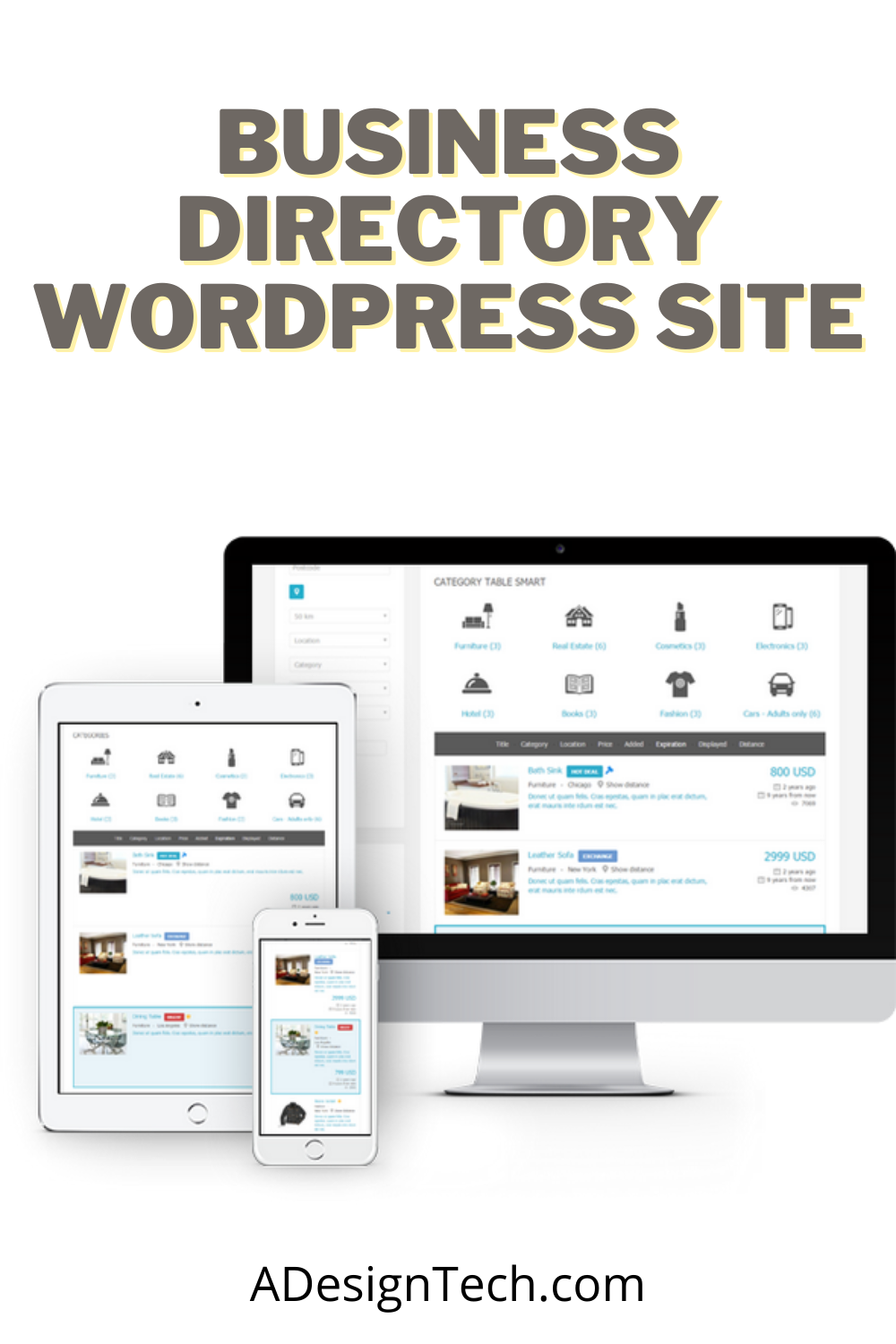 Hafizv I Will Create A Gorgeous Pro Business Directory Wordpress Site For 120 On Fiverr Com In 2020 Wordpress Woo Commerce Wordpress Business