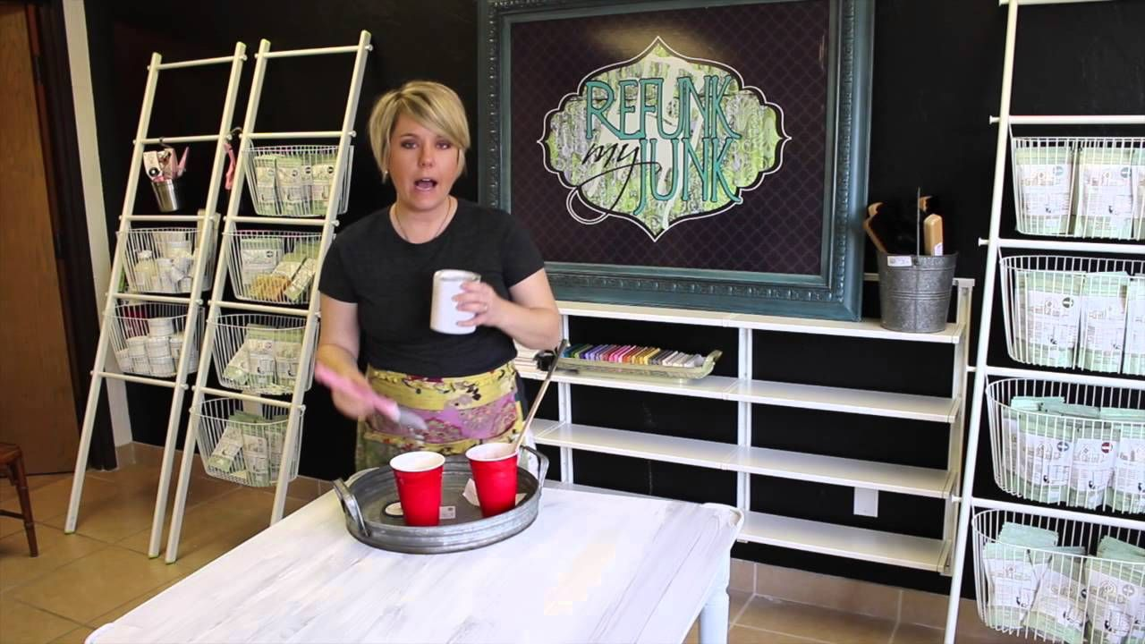 How to paint furniture getting an ultra smooth finish