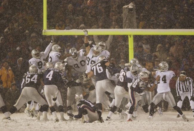 One of the 10 Greatest Postseason Field Goals of The Past Decade