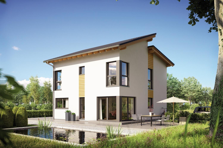 Fertighaus jakomo modernes architektenhaus mit versetztem for Modernes haus mit versetztem pultdach