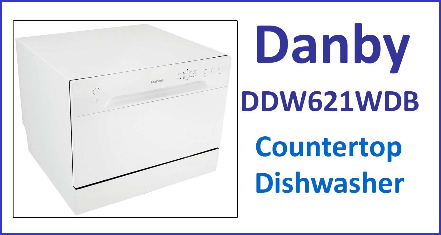 Danby Portable Countertop Dishwasher Ddw621wdb Review In 2020 Countertop Dishwasher