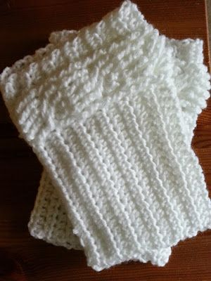 Free Pattern Crochet From J Cabled Boot Cuffs Crochet Ive Made