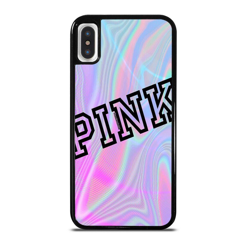 PINK de Victoria's Secret For iPhone 6 6S 7 8 Plus X XS Max XR ...