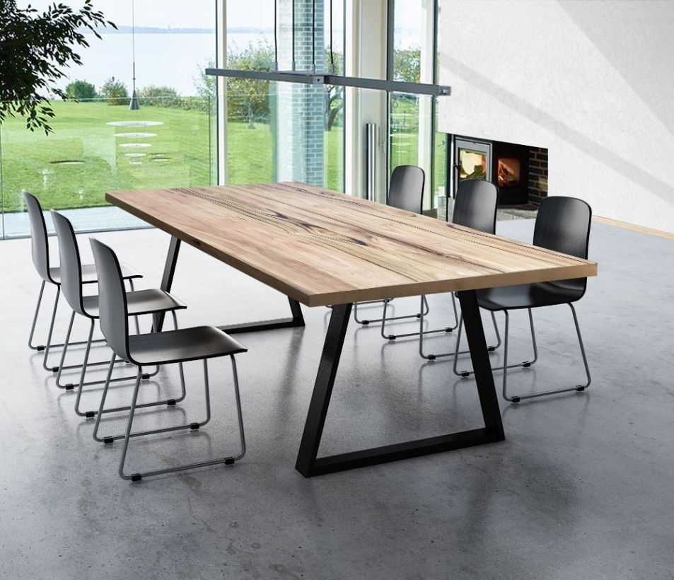 Large Farmhouse Table For Dining Room Big Family 27 Timber