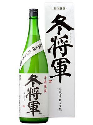 "I love ""Nigori SAKE""! for real! 新潟銘醸 本醸造にごり酒 冬将軍1800ml"