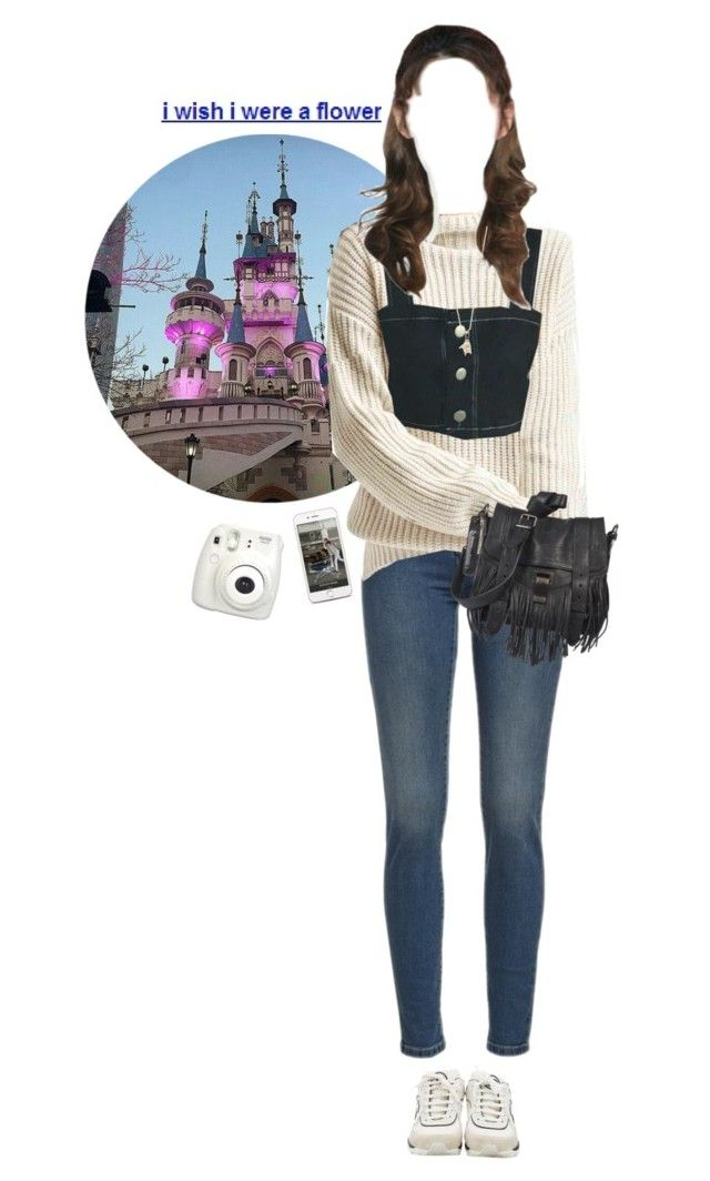 """lotte world with friends!"" by softmx ❤ liked on Polyvore featuring Gap, Chanel, Proenza Schouler, Sydney Evan and Fujifilm"