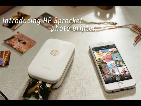 HP Sprocket Impresora fotográfica portátil Opiniones - YouTube