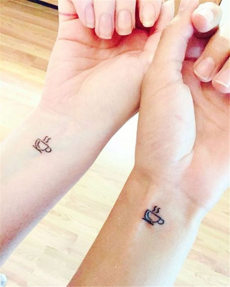 65 Epic Tattoo Designs For Women And Their Best Friends Page 5 Of 65 Cute Matching Tattoos Small Girly Tattoos Friendship Tattoos