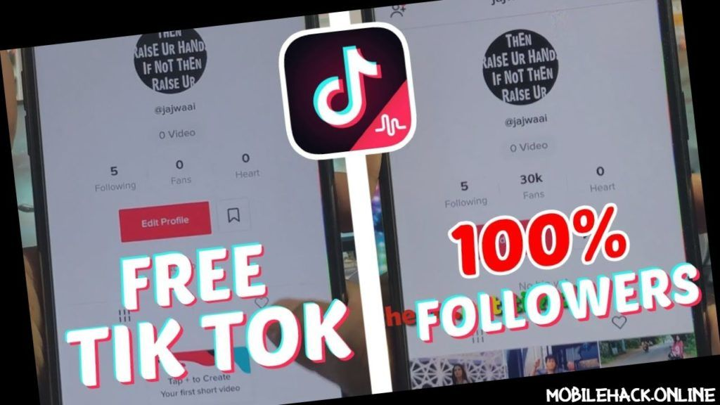 Tiktok Followers Free Tiktok Fans Hack 2020 Free Followers How To Get Followers How To Be Famous