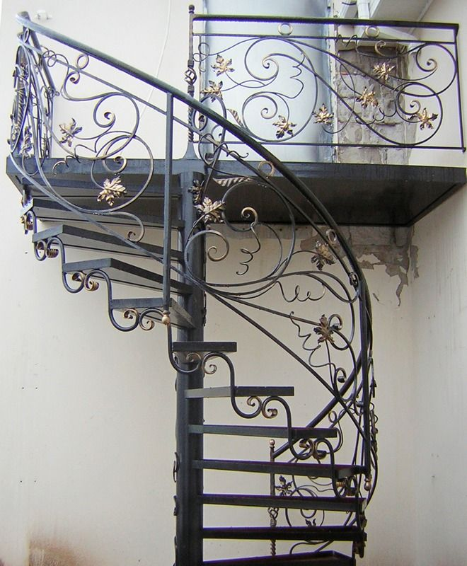 Best Spiral Staircase Made Of Metal With Your Hands 400 x 300