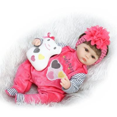 """59.62$  Watch here - http://alif5l.worldwells.pw/go.php?t=32738249050 - """"Realtouch 18"""""""" 45cm Silicone adora Lifelike Bonecas Baby newborn realistic magnetic pacifier bebe  reborn dolls babies toy"""" 59.62$"""