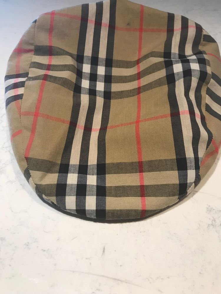 Burberry London Mens Classic Check Newsboy Cap Hat Wool SZ M  fashion   clothing  shoes  accessories  mensaccessories  hats (ebay link) 0dd010a4b11