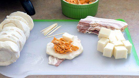 Creamy Buffalo Chicken Bombs recipe from Pillsbury.com