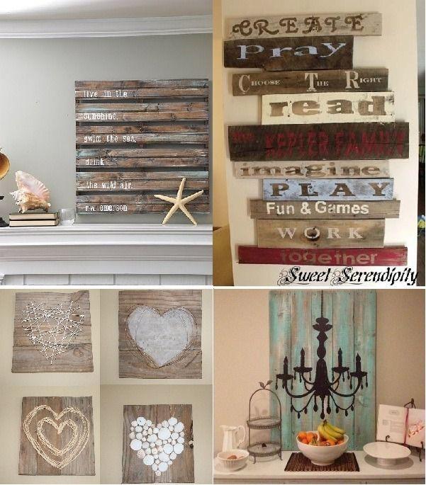 ▷ Ideas Para Decorar Paredes ⇒ Tips Originales Salons - decoracion con madera en paredes