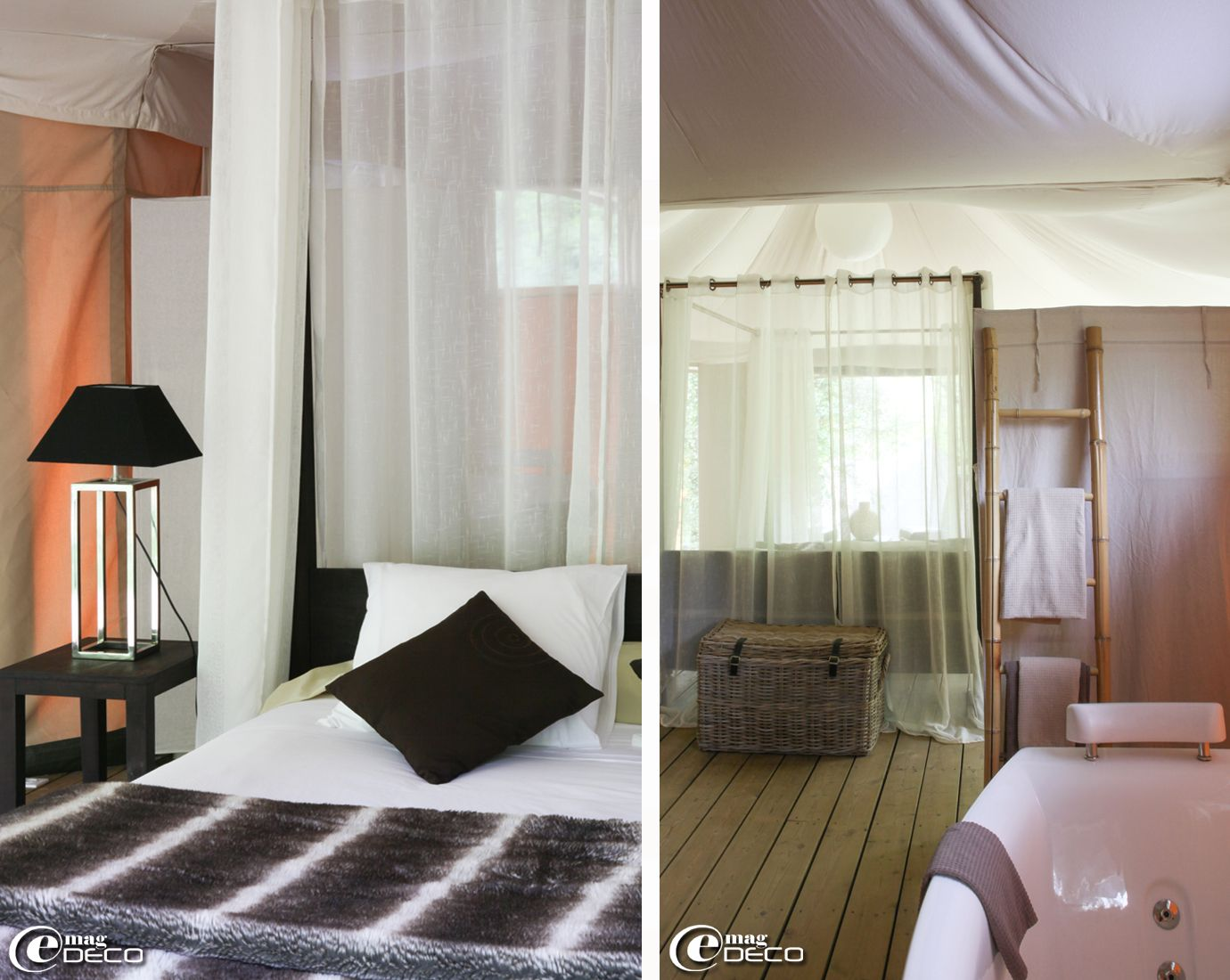 chelle porte serviettes en bambou chez la foir 39 fouille. Black Bedroom Furniture Sets. Home Design Ideas