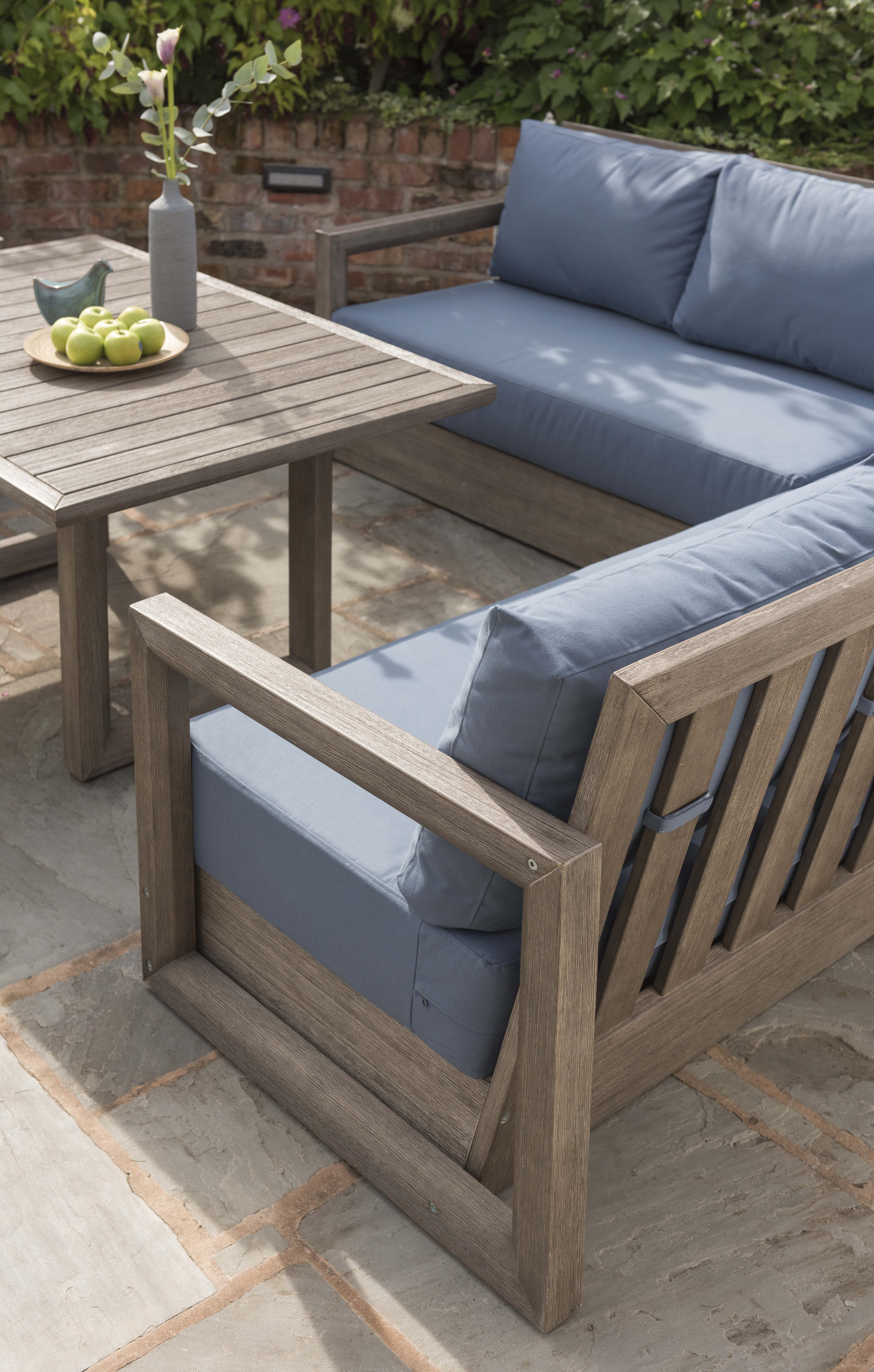 Wood garden furniture is now in the casual dining range take a look at our ezra outdoor sets