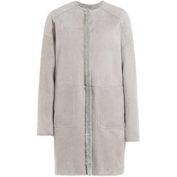 Yves Salomon Reversible Sheepskin Coat ($1,659) ❤ liked on ...