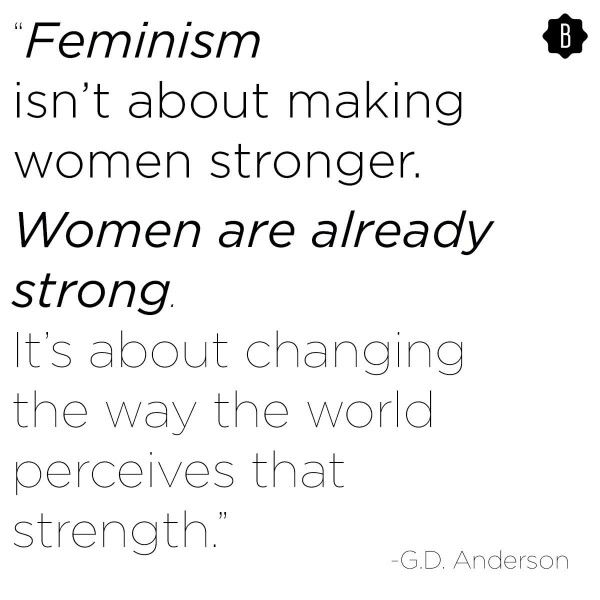 """feminism and the change of women There's a reason why """"feminism"""" is the word of the year 2017 has brought with  it the winds of change and we're (yet again) hopeful for what 2018 brings."""