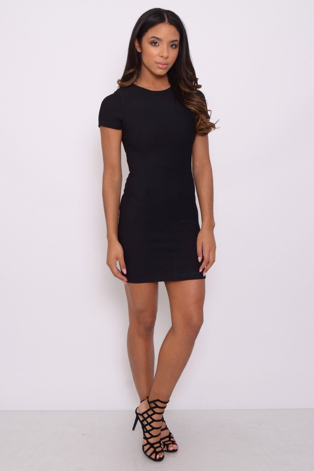 Red herring lace bodycon dress