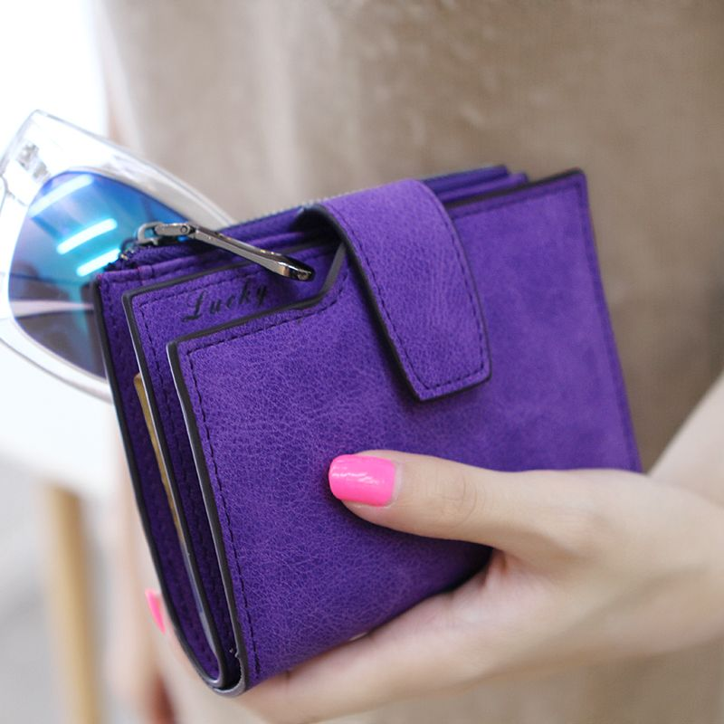 Fashion Brand Handy Short Wallet Women Luxury Leather Small Credit Card  Holder Money Wallets Purse Bag for Female Ladies Girls  c39e95a2dfe