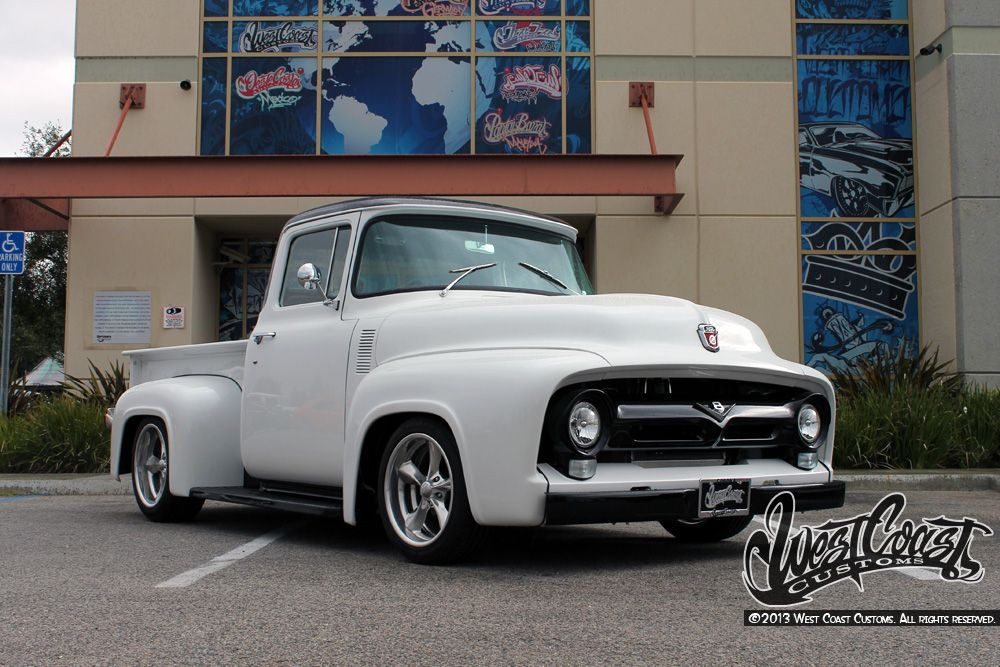 west coast customs and classics classic ford f 100 pickup truck by west coast customs photo. Black Bedroom Furniture Sets. Home Design Ideas