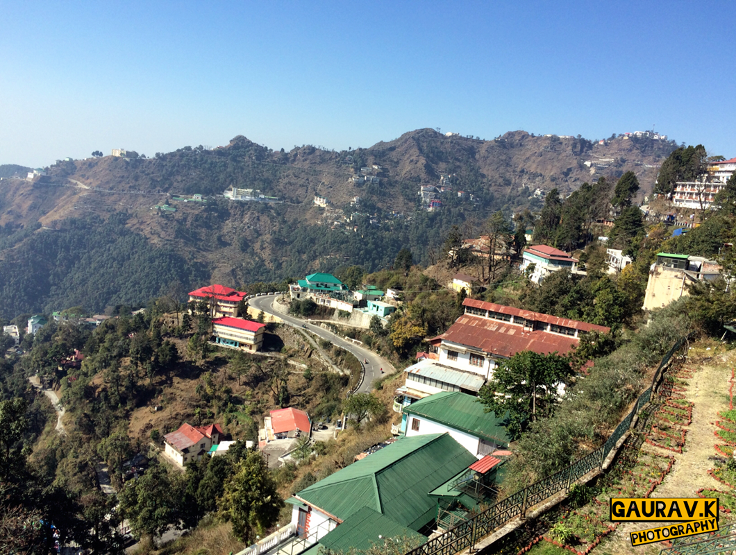 Beautiful View Of The Queen Of Hills Mussoorie Uttarakhand From