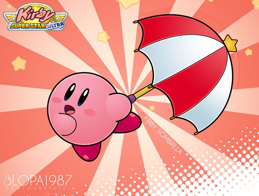 kirby Parasol by Blopa1987