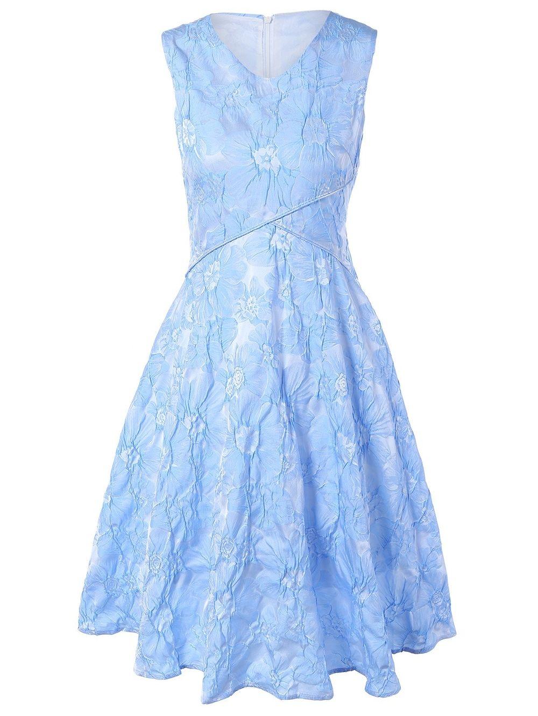 a874105771 Floral Jacquard Bridesmaid Short Formal A Line Dress