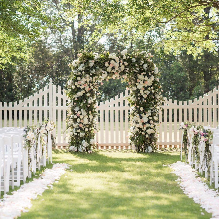 spring wedding ceremonies in a private garden. Montgomery