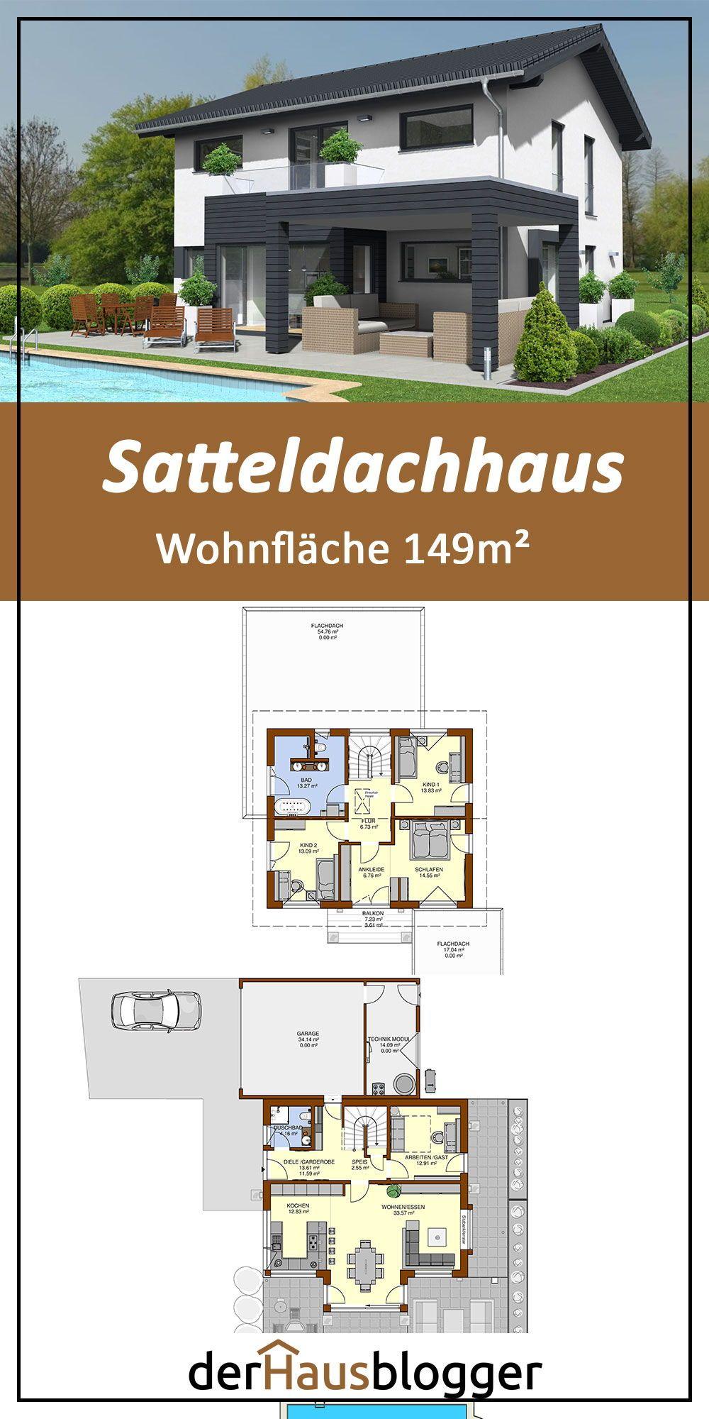 Satteldachhaus 149m² | derHausblogger