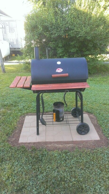 Pavers done   Backyard grilling, Diy patio pavers on Patio With Grill Area id=64795
