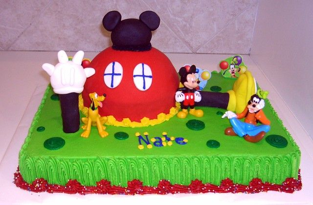 mickey mouse clubhouse sheet cake Google Search James Harris