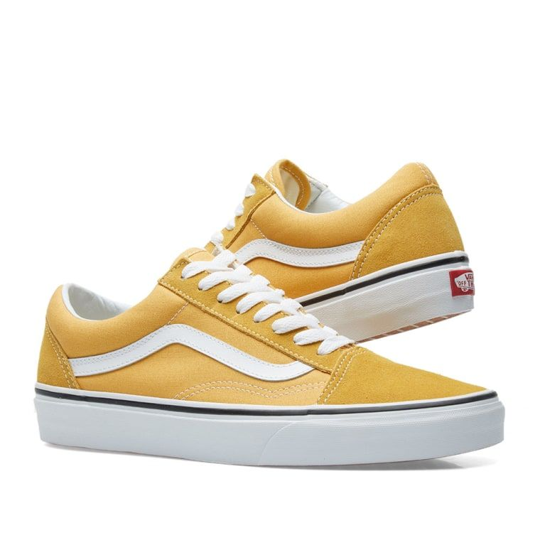 a75cbfde751960 Vans Old Skool (Ochre True White)