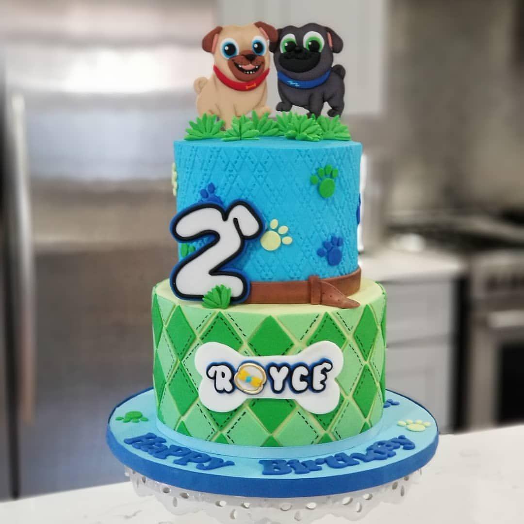 Happy 2nd birthday royce puppydogpals
