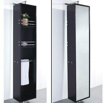 Barcelona Rotating Storage Cabinet Espresso