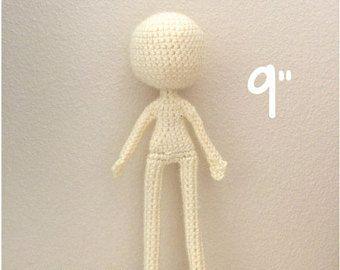Amigurumi Doll Anime : Amigurumi doll etsy