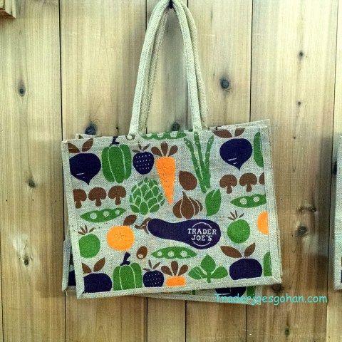 Trader Joe/'s New York NY Reusable Shopping Bags Set of 2