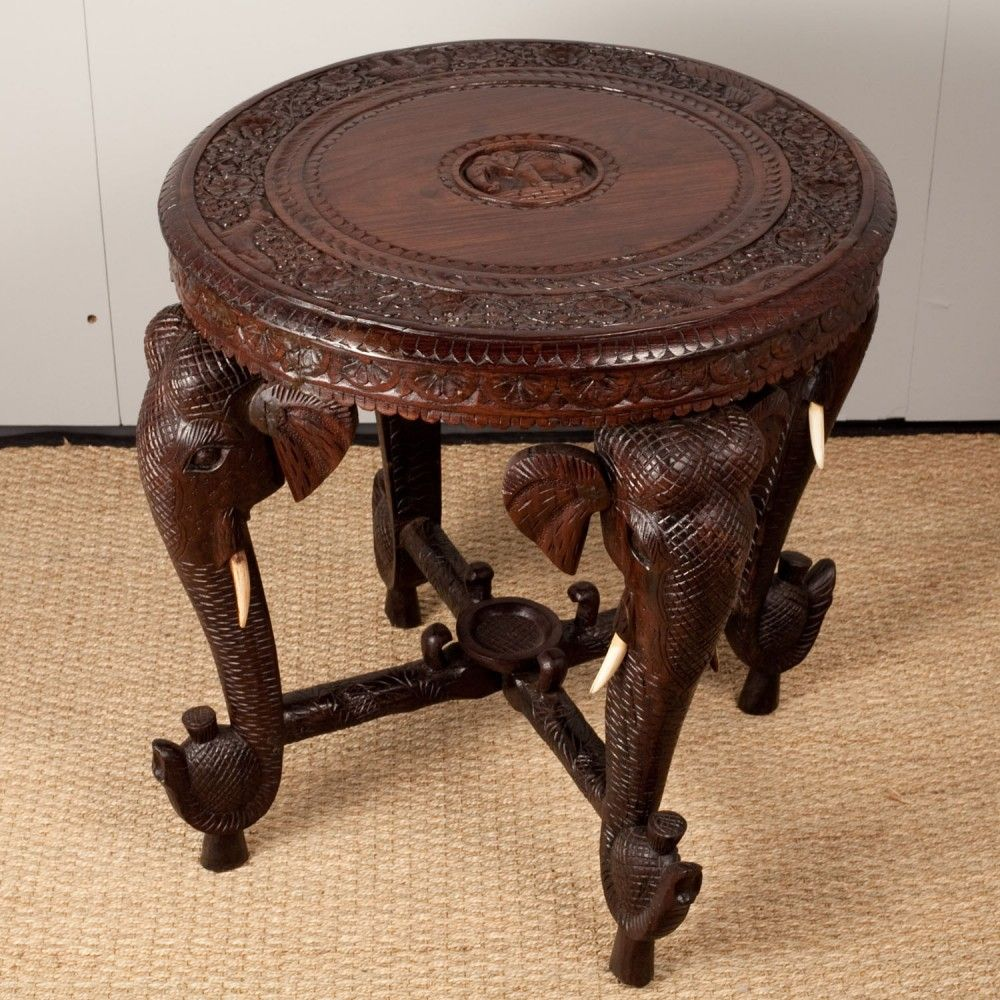 Anglo-Indian Rosewood Side table | World Bazaar | Pinterest ...