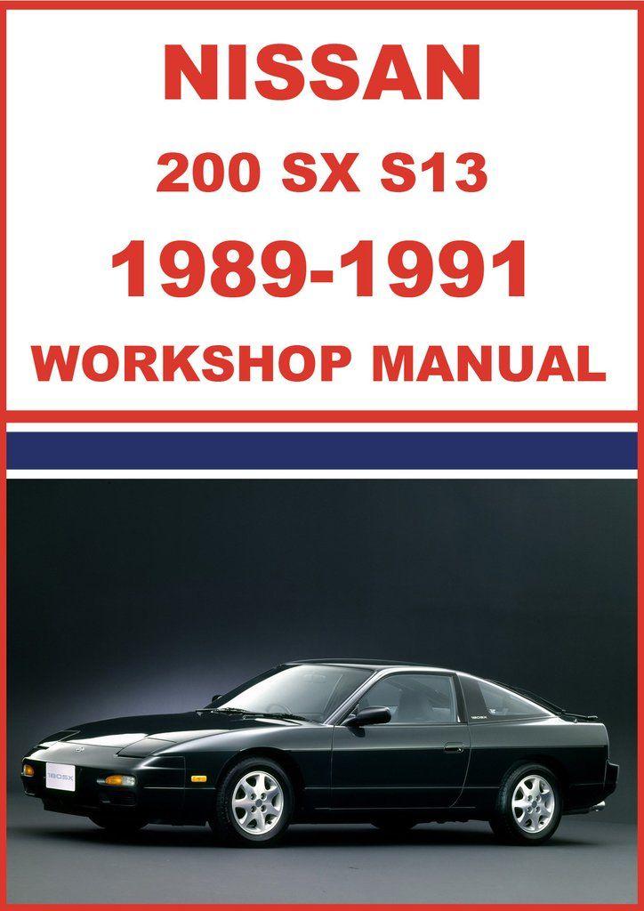 nissan s13 workshop manual expert user guide u2022 rh ndayo com Nissan 200 Ser Turbo Nissan 200SX S12
