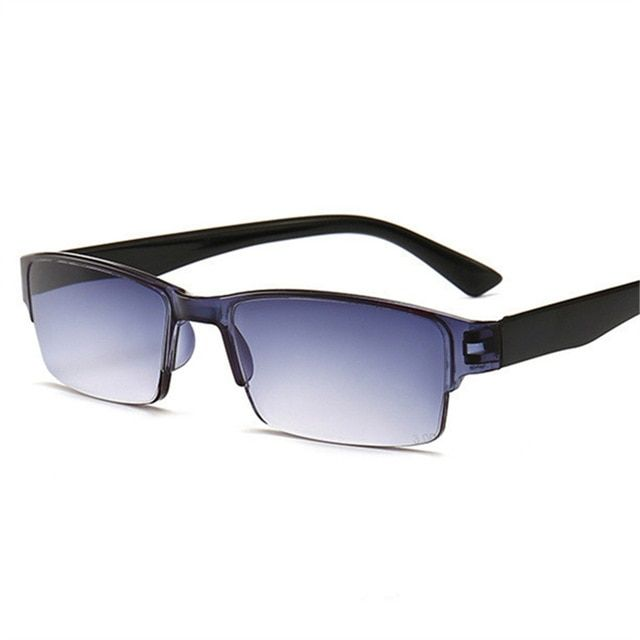 5bad2f8329 XojoX Half Frame Reading Glasses Men Progressive Glasses Women Presbyopic  Eyeglasses Diopter Glasses 1.0 1.5 2.0 2.5 3.0 3.5 Review
