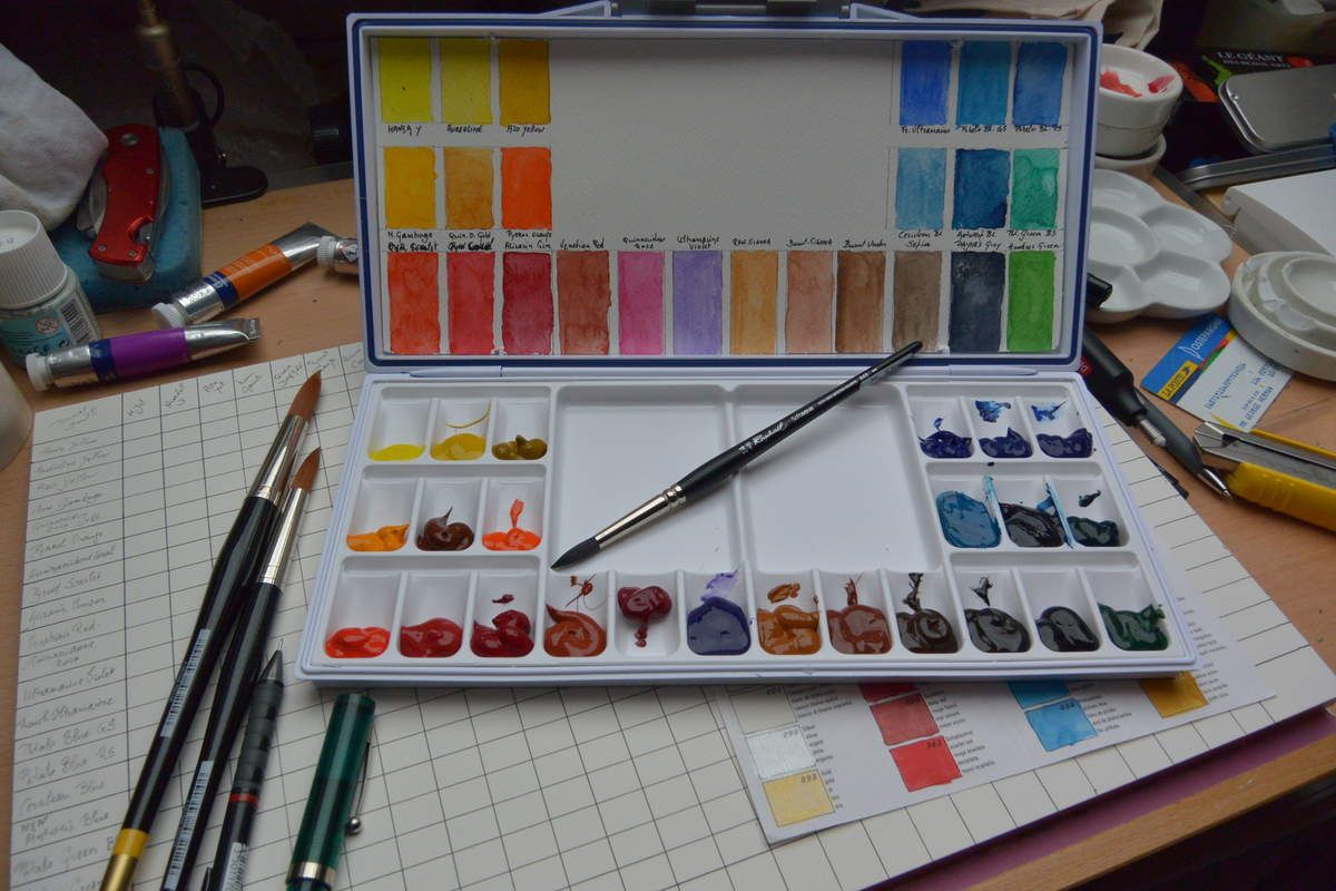 Aquarelle Decouverte Palettes Daniel Smith Palette Aquarelle