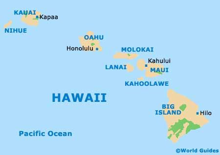 Honolulu Hawaii On World Map Hawaii Pinterest Hawaii On World