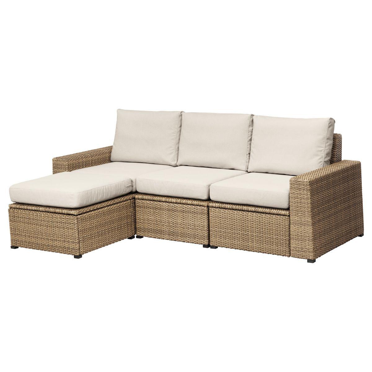 Solleron 3er Sofa Hocker Aussen Braun Beige Jetzt Bestellen Unter Https Moebel Ladendirekt De Garten Gartenmo Modulares Sofa Lounge Mobel Sofa